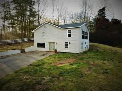 Mill Spring Single Family Home For Sale: 545 Hitching Post Drive