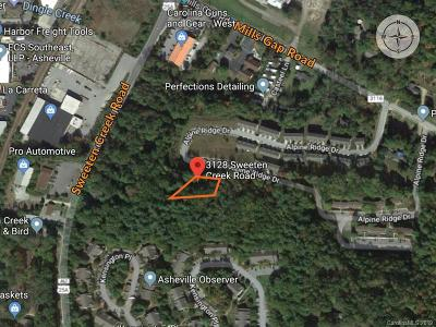 Asheville Residential Lots & Land For Sale: 3128 Sweeten Creek Road