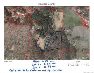 Haywood County Residential Lots & Land For Sale: Scotchmans Road #Lot 1