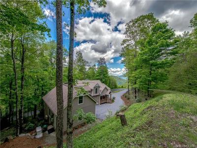 Waynesville Single Family Home For Sale: 2126 Serenity Mountain Road