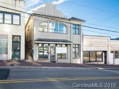Haywood County Commercial For Sale: 41 Depot Street