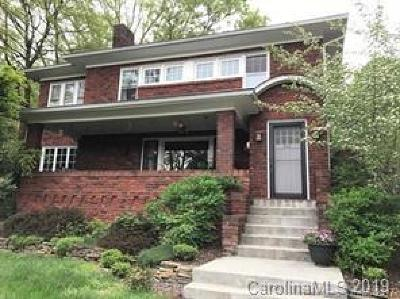 Asheville Single Family Home For Sale: 35 Mount Vernon Circle