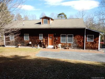 Flat Rock NC Single Family Home For Auction: $220,000