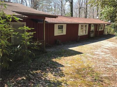 Transylvania County Single Family Home For Sale: 155 Bent Oak Lane