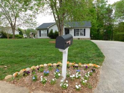 Troutman Single Family Home For Sale: 115 Shenandoah Loop