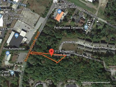 Asheville Residential Lots & Land For Sale: 3124 Sweeten Creek Road