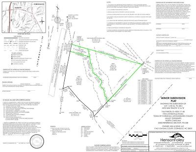 Cornelius Residential Lots & Land For Sale: 19303 Statesville Road #B