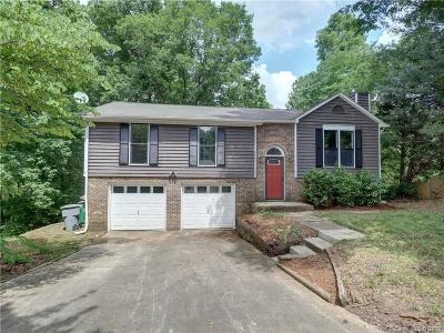 Charlotte NC Single Family Home Under Contract-Show: $225,000