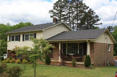 Concord NC Single Family Home For Sale: $240,000