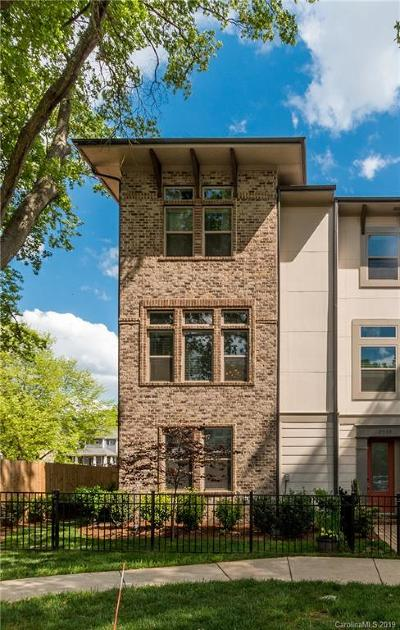 Dilworth, Historic District Condo/Townhouse Under Contract-Show: 2515 Euclid Avenue