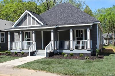 Charlotte Single Family Home For Sale: 1517 Parkwood Avenue