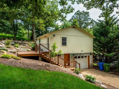 Asheville Single Family Home For Sale: 33 and 33 1/2 Campground Road