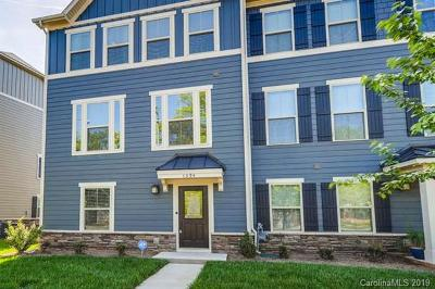 Charlotte NC Condo/Townhouse For Sale: $323,500