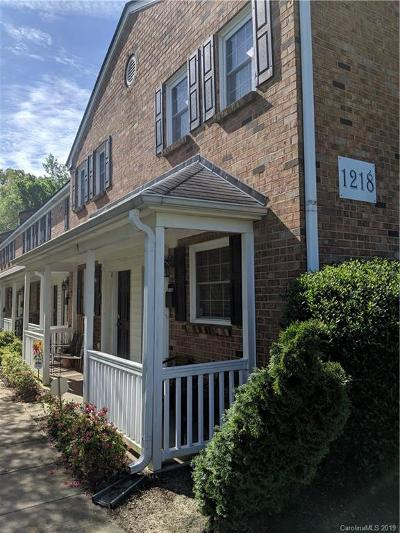 Charlotte NC Condo/Townhouse For Sale: $180,000