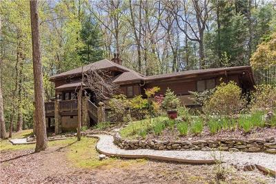 Buncombe County, Haywood County, Henderson County, Madison County Single Family Home For Sale: 2 Holly Hill Road