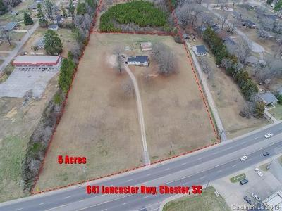 Chester Single Family Home For Sale: 641 Lancaster Highway