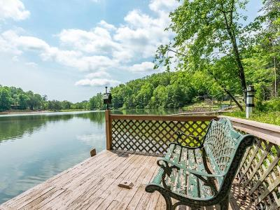 Lake Lure, Chimney Rock, Bat Cave, Black Mountain, Saluda, Mill Spring, Columbus, Tryon, Rutherfordton, Union Mills Single Family Home For Sale: 330 Mallard Road