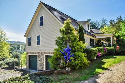 Weaverville Single Family Home Under Contract-Show: 83 Parker Cove Road