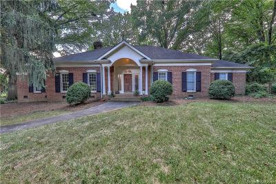 Charlotte NC Single Family Home For Sale: $1,150,000