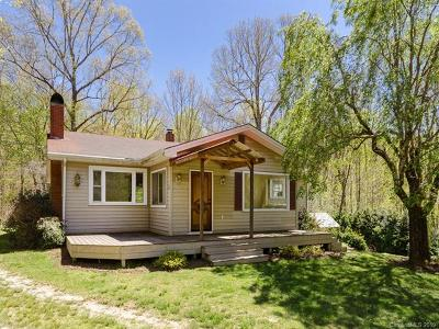 Brevard Single Family Home For Sale: 71 Forsythia Drive