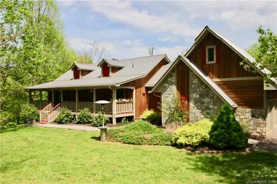 Waynesville Single Family Home For Sale: 294 Parrish Farms Road