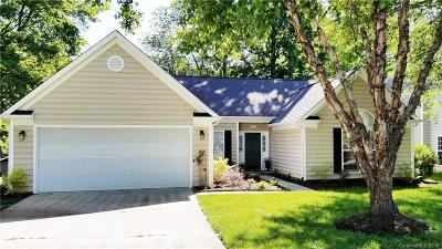 Charlotte Single Family Home Under Contract-Show: 6227 Breitling Grove Place