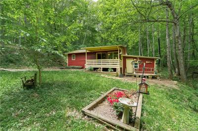 Waynesville Single Family Home Under Contract-Show: 620 Apple Creek Road