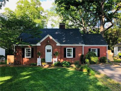 Statesville Single Family Home Under Contract-Show: 828 Woodland Road