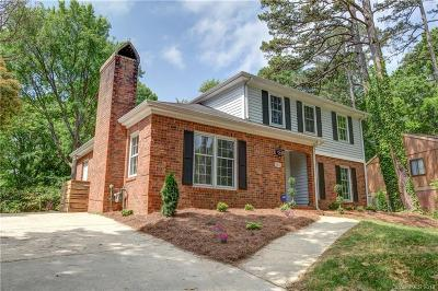 Charlotte Single Family Home Under Contract-Show: 6614 Woodmont Place