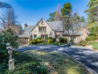 Hendersonville Single Family Home For Sale: 2605 Kanuga Road