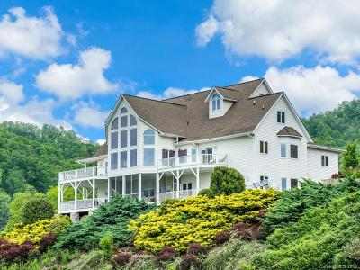 Buncombe County, Haywood County, Henderson County, Madison County Single Family Home For Sale: 64 Silvers Cove Road