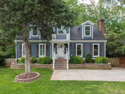 Myers Park Single Family Home For Sale: 3453 Selwyn Avenue