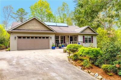 Transylvania County Single Family Home For Sale: 92 Nodatsi Court
