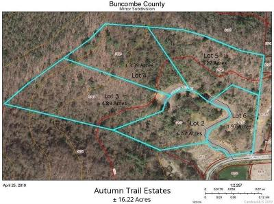 Asheville Residential Lots & Land For Sale: 229 Bee Ridge Road