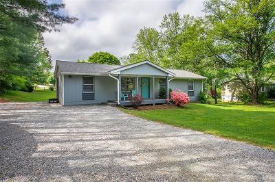 Transylvania County Single Family Home Under Contract-Show: 1250 Hendersonville Highway
