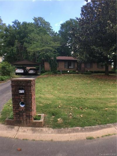 Charlotte Single Family Home For Sale: 6723 Wild Turkey Lane