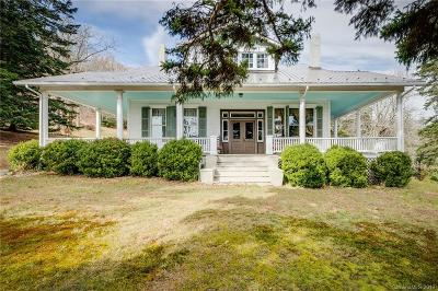 McDowell County Single Family Home For Sale: 100 Bearwallow Road