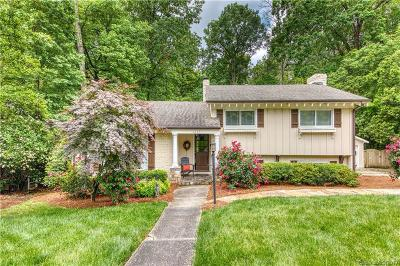 Charlotte Single Family Home Under Contract-Show: 2119 Sagamore Road