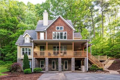 Asheville Single Family Home For Sale: 12 Foxjump Field Drive