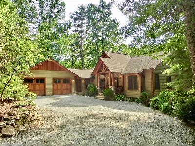 Transylvania County Single Family Home Under Contract-Show: 2806 Upper Whitewater Road