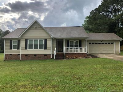 Rock Hill Single Family Home For Sale: 1330 Adnah Church Road