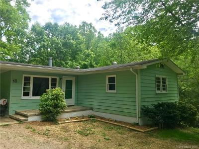 Waynesville Single Family Home Under Contract-Show: 74 Green Valley Road