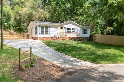 Charlotte Single Family Home For Sale: 833 Dudley Drive