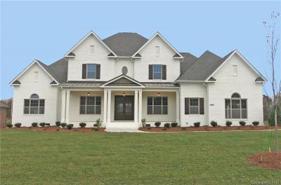Waxhaw, Weddington Single Family Home For Sale: 3022 Cowhorn Branch Court