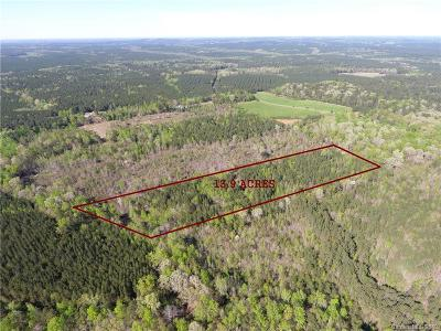 Anson County Residential Lots & Land For Sale: Long Pine Church Road