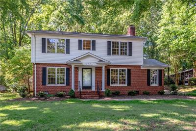 Single Family Home For Sale: 6911 Foxworth Drive