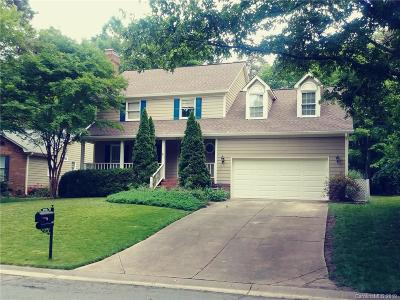 Matthews Single Family Home Under Contract-Show: 1237 Armadale Lane