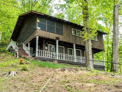 Bat Cave, Black Mountain, Chimney Rock, Lake Lure, Mill Spring, Rutherfordton, Union Mills, Bostic, Columbus, Tryon, Saluda Single Family Home Under Contract-Show: 341 Terrace Drive
