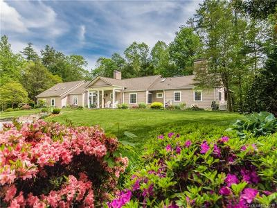 Hendersonville Single Family Home For Sale: 1718 Kanuga Road