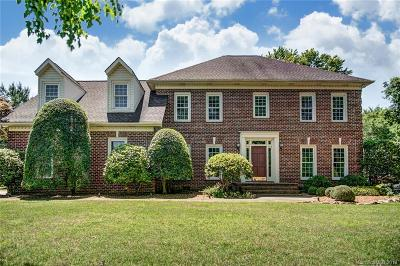 Weddington Single Family Home For Sale: 6123 Greystone Drive